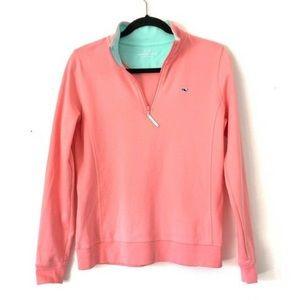 ☀️3/$25 Vineyard Vines Pink Shep Pullover Sweater